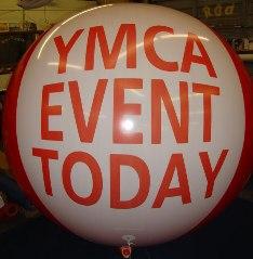 huge 7 ft. balloon for advertising